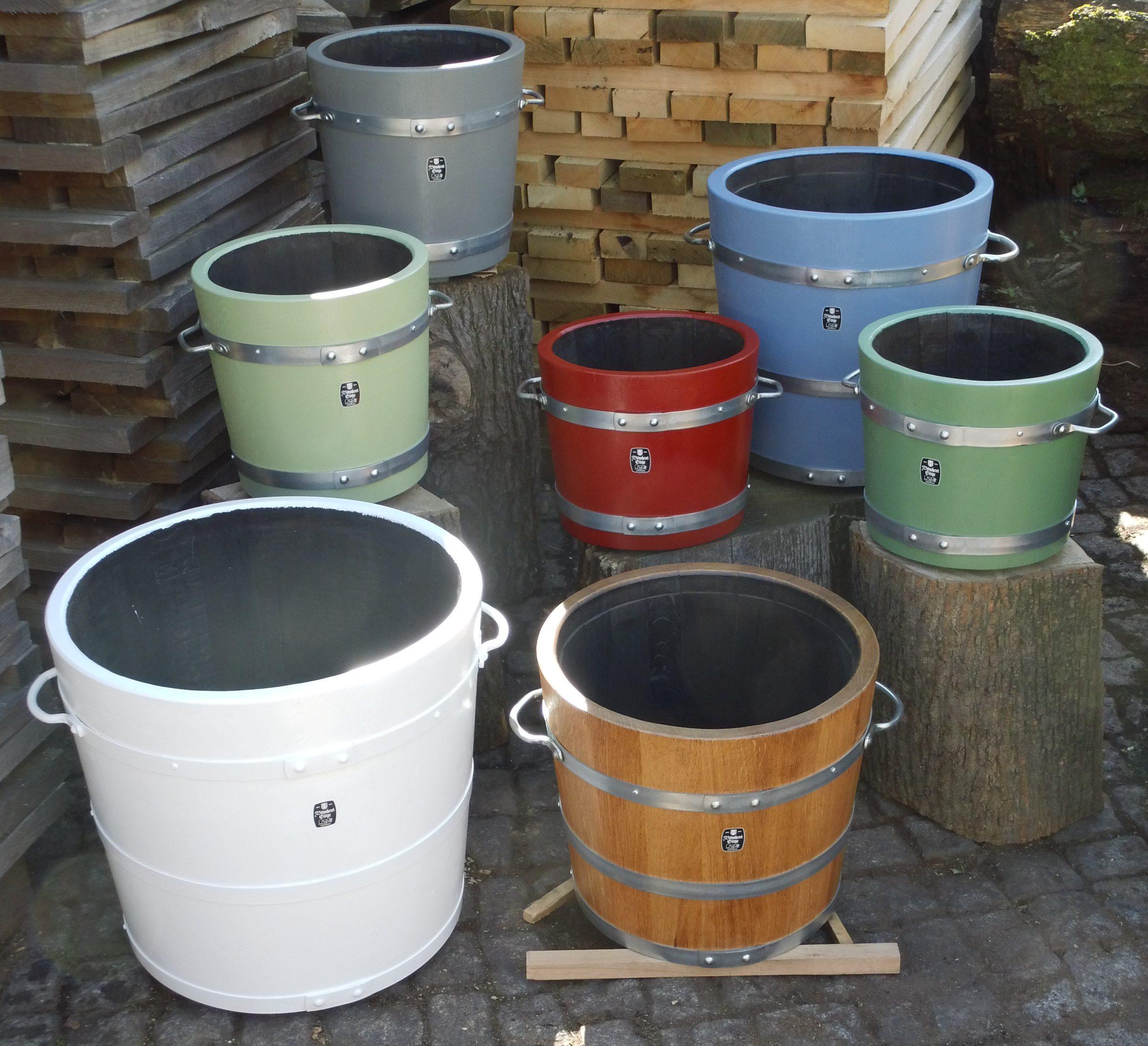 Holzpflanzkübel - Pflanzkübel Holz -  Auswahl